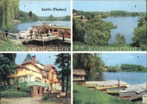 Zechlin Flecken Am Schwarzen See Dampferanlegestelle FDGB Heim Elsenhoehe