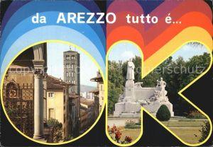 Arezzo Denkmal Kat. Arezzo