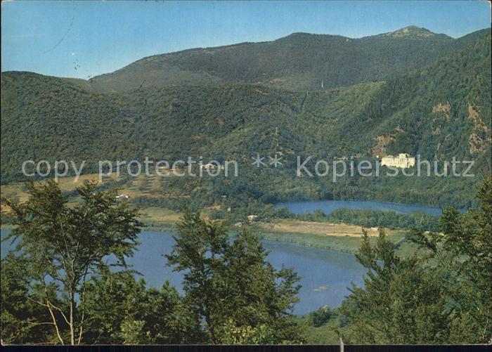 Monticchio Grosser See Kleiner See Gebirge Vulture Kat. Potenza