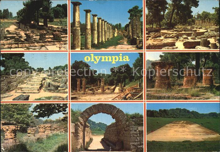 Olympia Griechenland Wettkampfstaette Kat. Griechenland