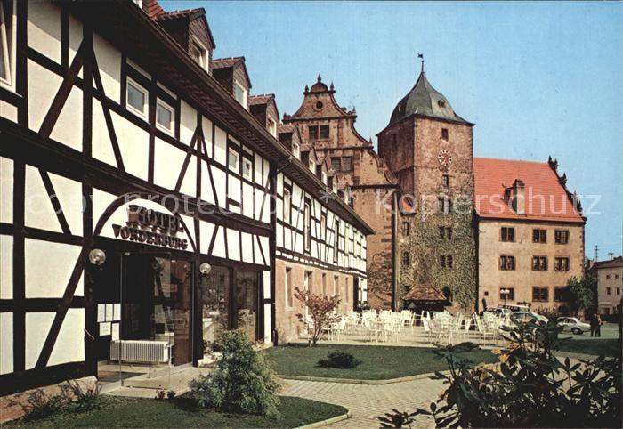 Hotel Vorderburg An Der Vorderburg   Schlitz Deutschland