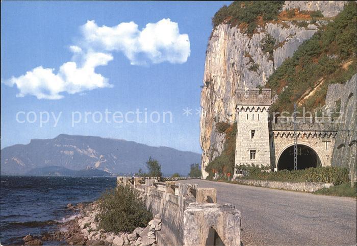 Bourget du Lac Savoie Le Tunnel de la Colombiere Kat. Le Bourget du Lac