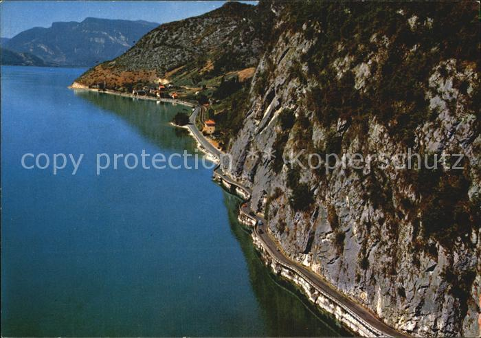 Bourget du Lac Savoie Le Fliegeraufnahme Kat. Le Bourget du Lac