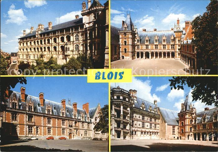 Blois Loir et Cher Le chateau la facade des Loges  Kat. Blois