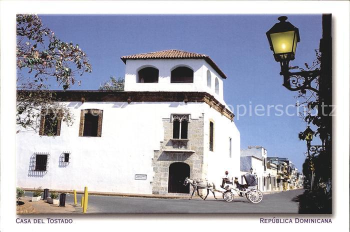 Santo Domingo Distrito Nacional Casa del Tostado Kat. Santo Domingo