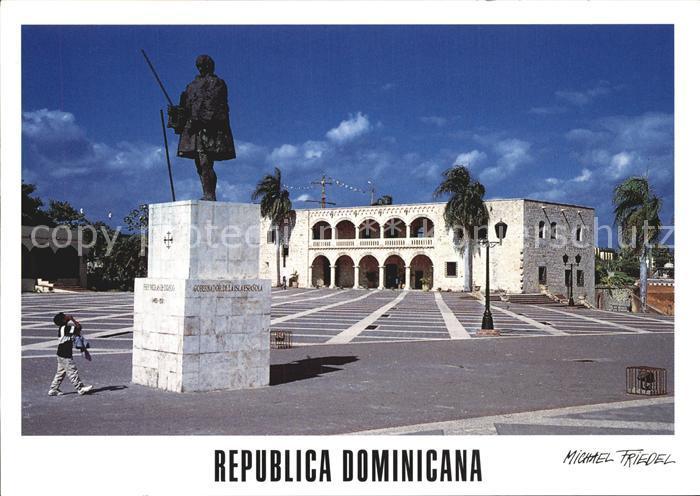 Santo Domingo Distrito Nacional Denkmal Kat. Santo Domingo