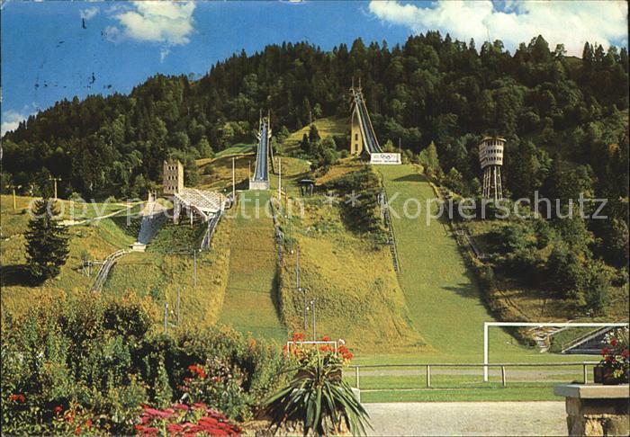 Garmisch Partenkirchen Olympia Skistadion Olympia Schanze  Kat. Garmisch Partenkirchen