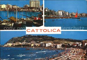 Cattolica Strand Hafen  Kat. Cattolica