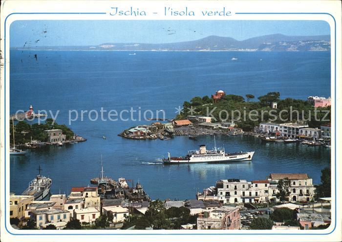 Porto d Ischia Hafenansicht