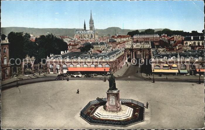 Nancy Lothringen Place Stanislas Monument Cathedrale Kat. Nancy