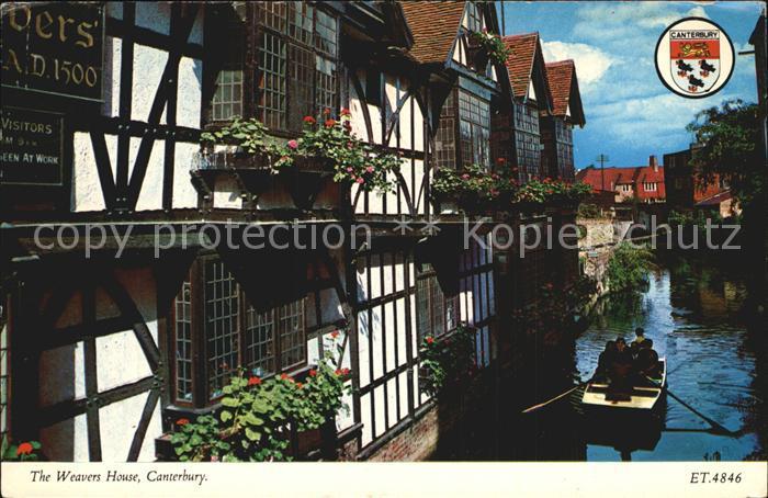 Canterbury UK The Weavers House Kat. Canterbury