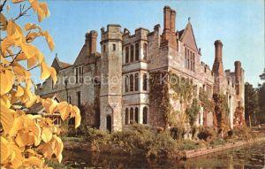 Hever Edenbridge Castle and Moat automn