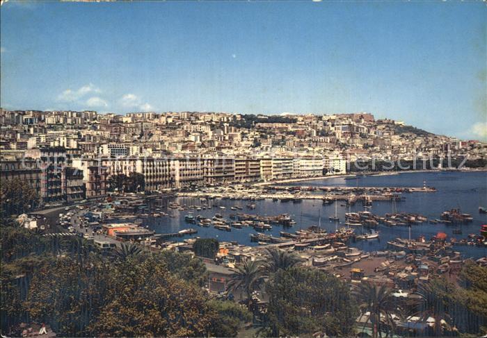 Napoli Neapel Mergellina e Via Caracciolo Porto Hafen Kat. Napoli 0