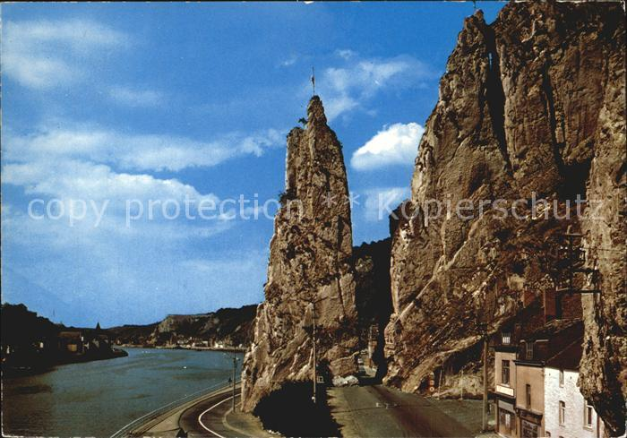 Dinant Wallonie Rocher Bayard et Panorama Anseremme Kat. Dinant