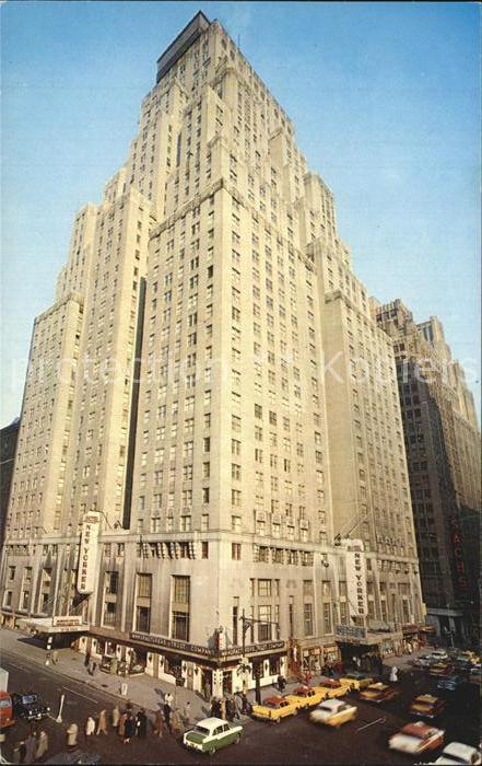 New York City Hotel New Yorker