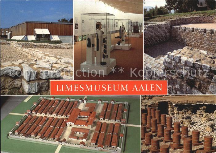Aalen Limesmuseum Kat. Aalen