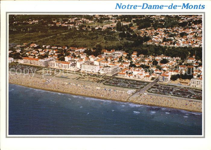 Notre Dame de Monts Vue generale aerienne de la plage Kat. Notre Dame de Monts
