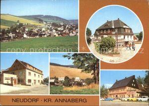 Neudorf Erzgebirge HOG Vierenstrasse Betriebsgaststaette Gute Quelle Teilansicht FDGB Vertragshaus des Volkes  Kat. Oberwiesenthal