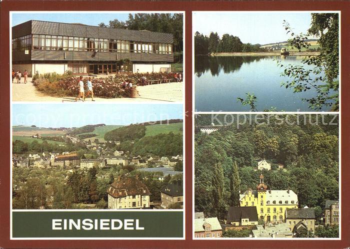 Einsiedel Chemnitz Pionierlager Palmiro Togliatti Panorama Rathaus Talsperre Kat. Chemnitz