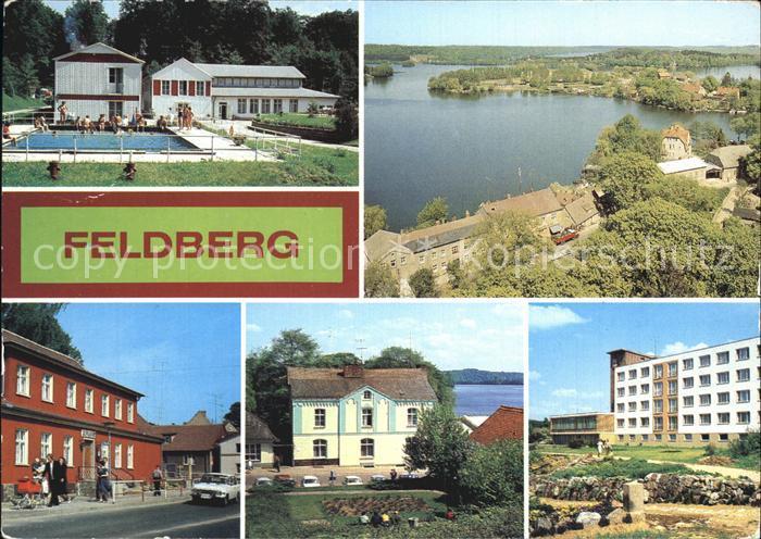 Feldberg Mecklenburg FDGB Ferienheim Stieglitzenkrug Haussee Rathaus FDGB Ferienheim Freundschaft Kat. Feldberger Seenlandschaft