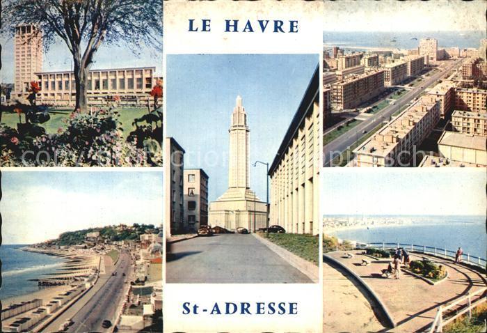 Sainte Adresse Hotel de Ville Cap de la Heve Avenue Foch Porte Oceane Eglise St Joseph Kat. Sainte Adresse