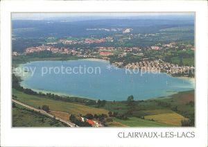 Clairvaux les Lacs Vue generale aerienne Grand Lac Kat. Clairvaux les Lacs