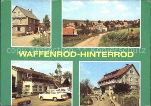 Hinterrod Waffenrod Gaststaette Auegrund HO Gaststaetten Kat. Waffenrod Hinterrod Eisfeld