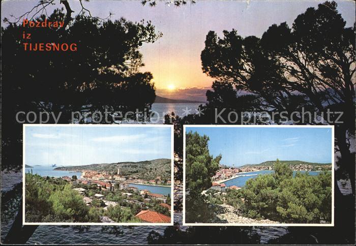 Tijesno Bosnien Herzegowina Panorama Kat. Bosnien Herzegowina