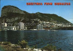 Gibraltar West view of Rock Kat. Gibraltar