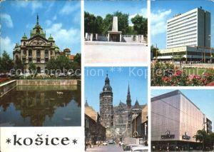 Kosice Statne divadlo Pomnik SNP Dom Hotel Obchodny dom Prior Kat. Kosice
