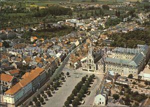 Issoudun Indre Pelerinage a Notre Dame du Sacre Coeur Basilique Place vue aerienne Kat. Issoudun