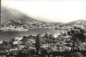 Dubrovnik Ragusa Hafen Gruz und Lapad Kat. Dubrovnik