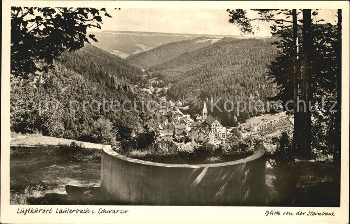 Lauterbach Schwarzwald  Kat. Lauterbach