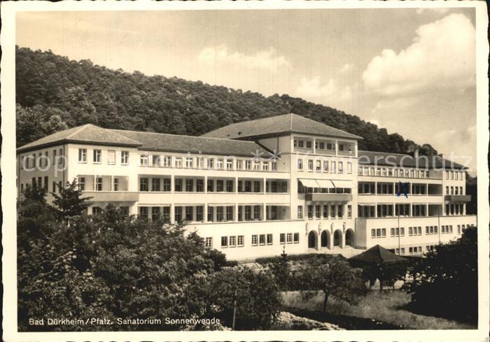 Bad Duerkheim Sanatorium Sonnenwende Kat. Bad Duerkheim