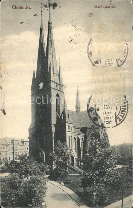 Chemnitz Markuskirche Kat. Chemnitz