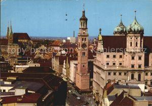 Augsburg Maximilianstr Rathaus und Perlach Kat. Augsburg