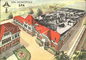 Spa Liege Spa Monopole Kuensterkarte Kat.