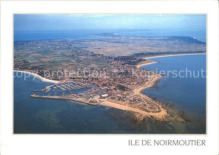 Ile de Noirmoutier La Pointe et le Port de l Herbaudiere vue aerienne Kat. Noirmoutier en l Ile
