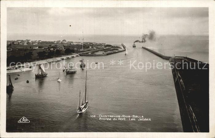 Ouistreham Hafen Kat. Ouistreham
