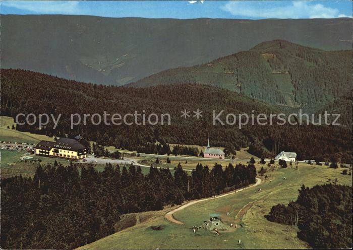 Kandel Waldkirch Breisgau Berghotel Kandel Kat. Waldkirch