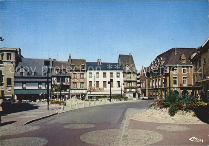 Evreux Place Armand Mandle Kat. Evreux