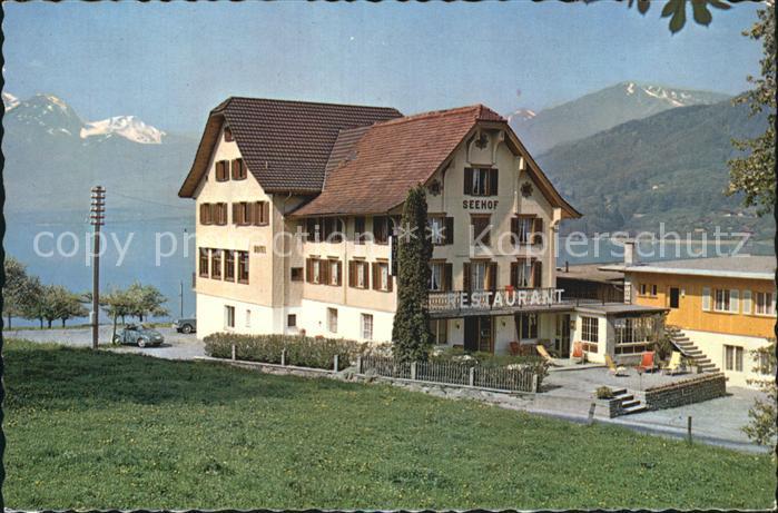 Sachseln OW Hotel Restaurant Seehof Sachseln Kat. Sachseln