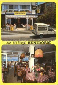 Benidorm Het enige echte Hollandse Restaurant aan het Strand Hotel Valkenburg Gastraum Kat. Costa Blanca Spanien