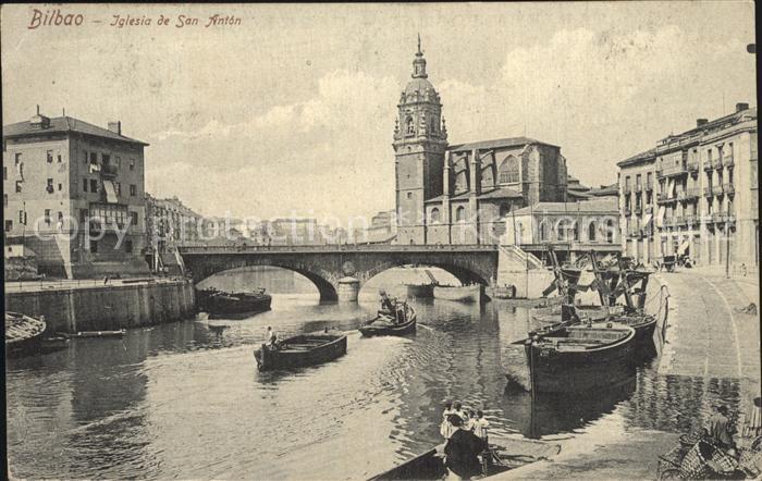 Bilbao Spanien Iglesia de San Anton Kat. Bilbao
