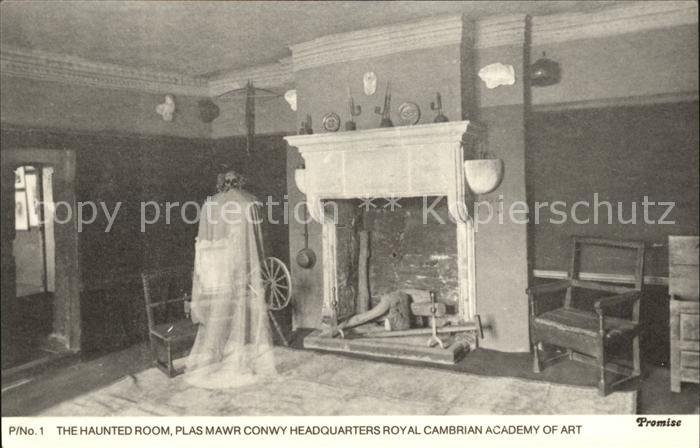 Promise City The Haunted Room Plas Mawr Conwy Headquarters Royal Cambrian Academy of Art Kat. Promise City