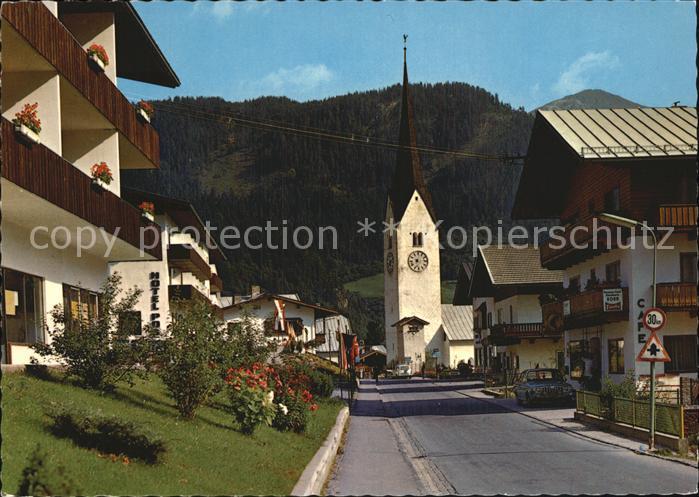 Krimml Dorfstrasse Kirche Kat. Krimml