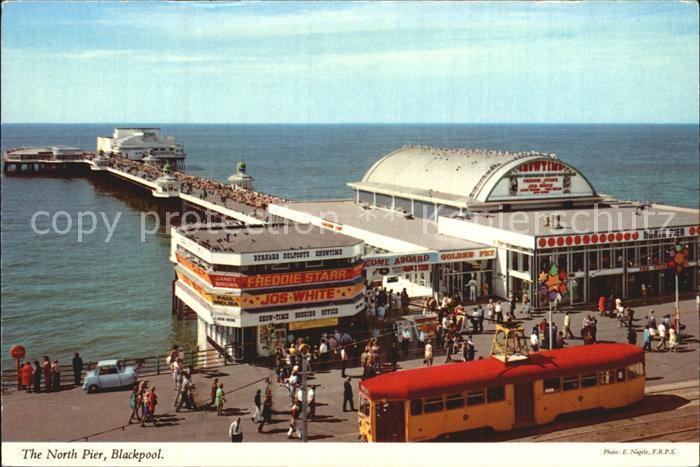 Blackpool North Pier Meer Kat. Blackpool