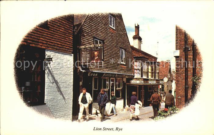 Rye East Sussex Lion Street Kat. East Sussex