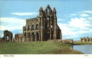 Whitby West Cliff Kloster Kat. Scarborough