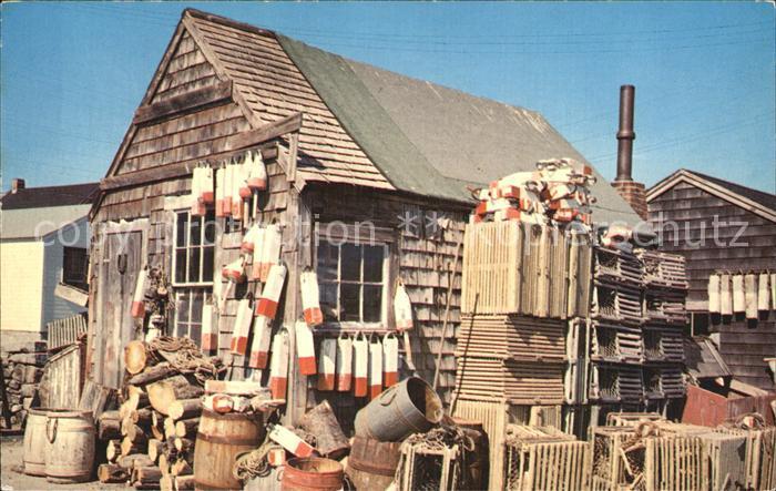 Narragansett Rhode Island Fischerdorf Kat. Narragansett